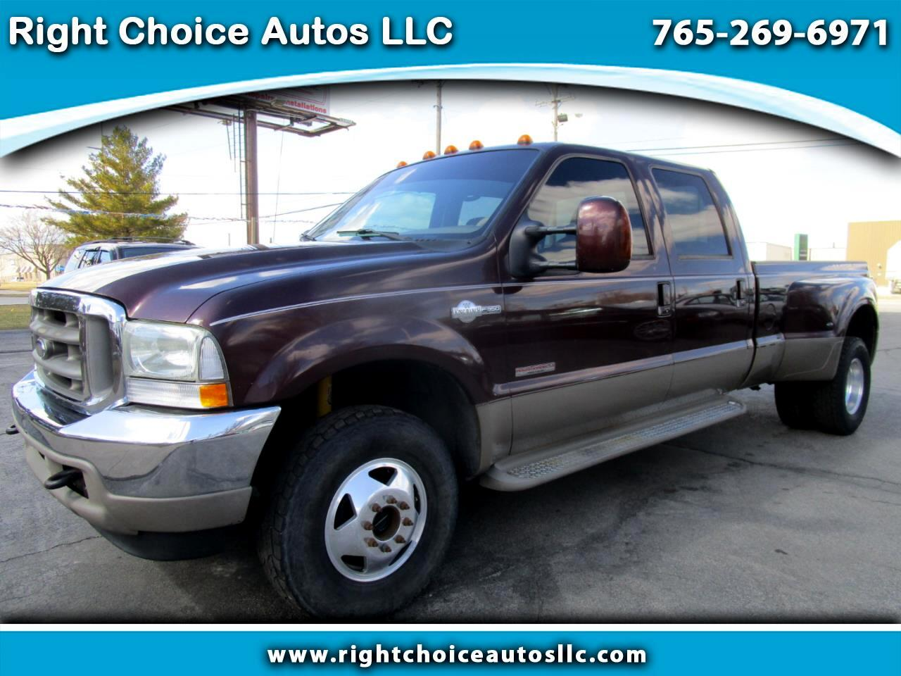 2003 Ford F-350 SD King Ranch Crew Cab 4WD DRW