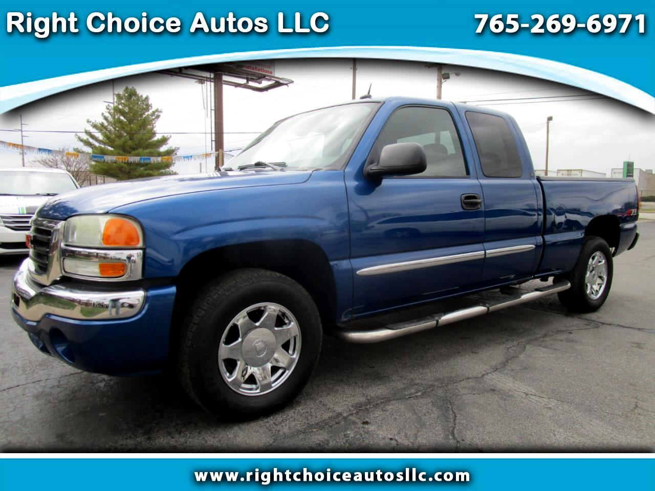 2004 GMC Sierra 1500 SLE Ext. Cab Short Bed 4WD