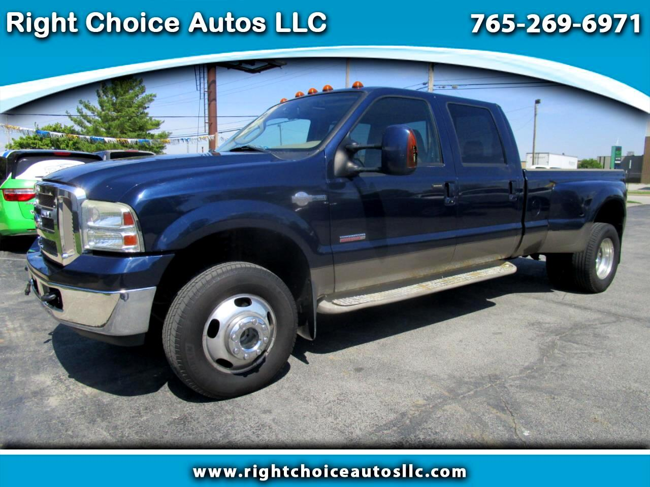 2006 Ford F-350 SD King Ranch Crew Cab Long Bed 4WD DRW