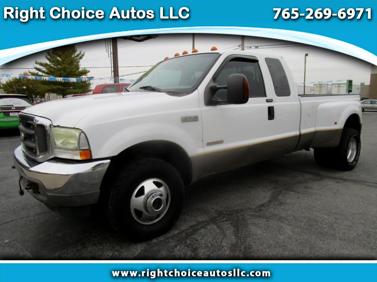 Ford F-350 SD Lariat SuperCab Long Bed 4WD DRW 2004