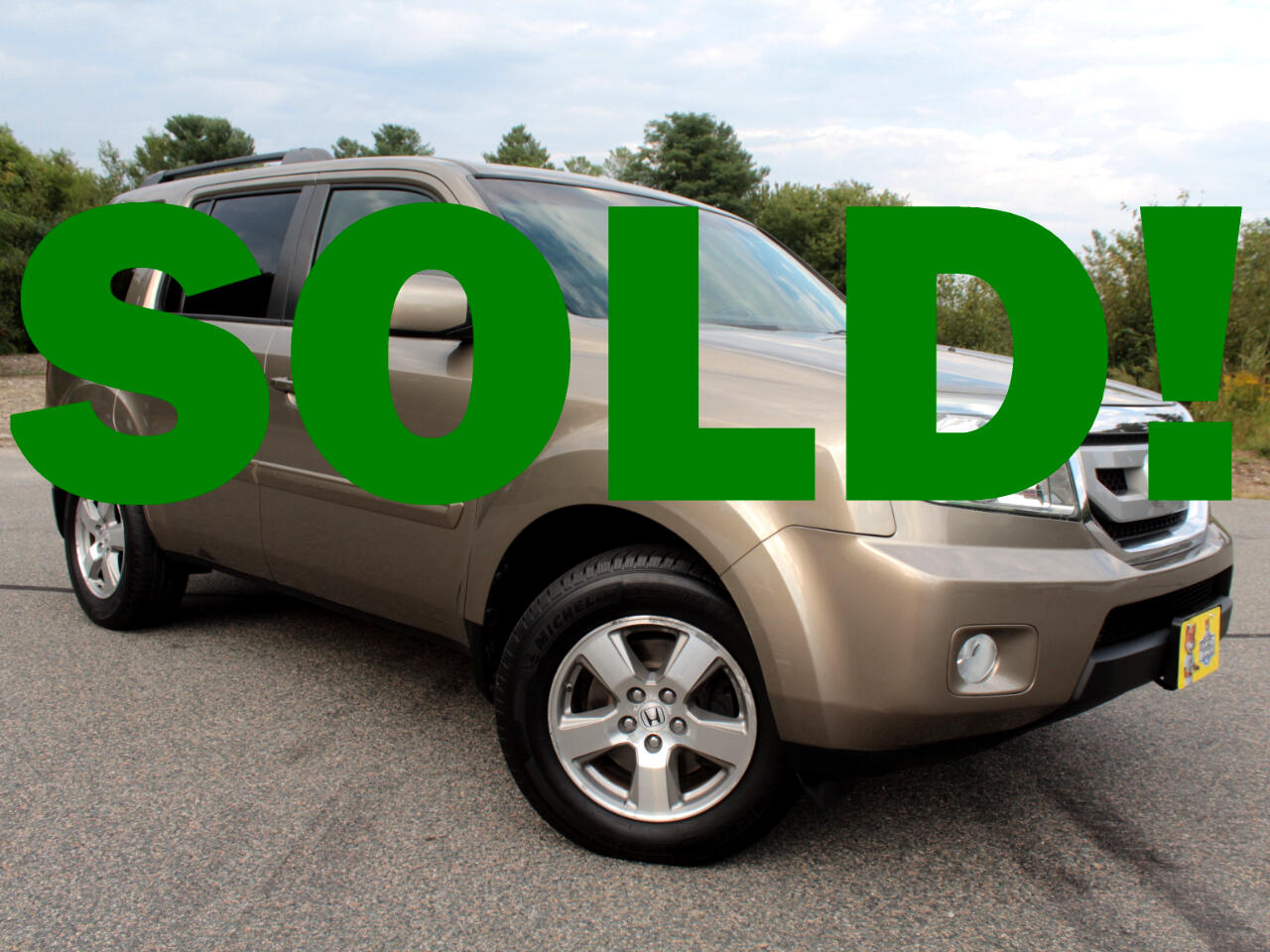 2011 Honda Pilot EX-L 4WD 5-Spd AT with DVD