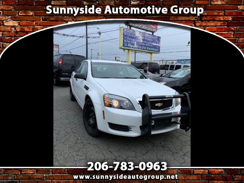 Chevrolet Caprice Police 2012