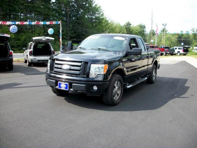 "2009 Ford F-150 4WD SuperCab 145"" STX"