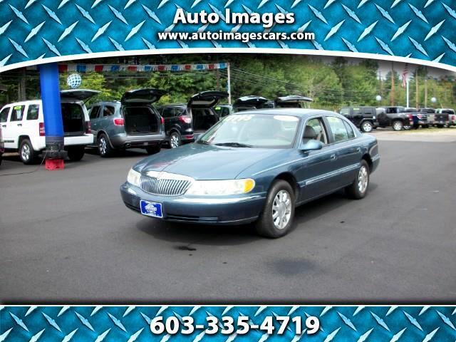 2001 Lincoln Continental 4dr Sdn