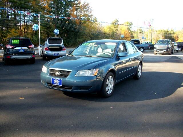 2008 Hyundai Sonata 4dr Sdn I4 Man GLS