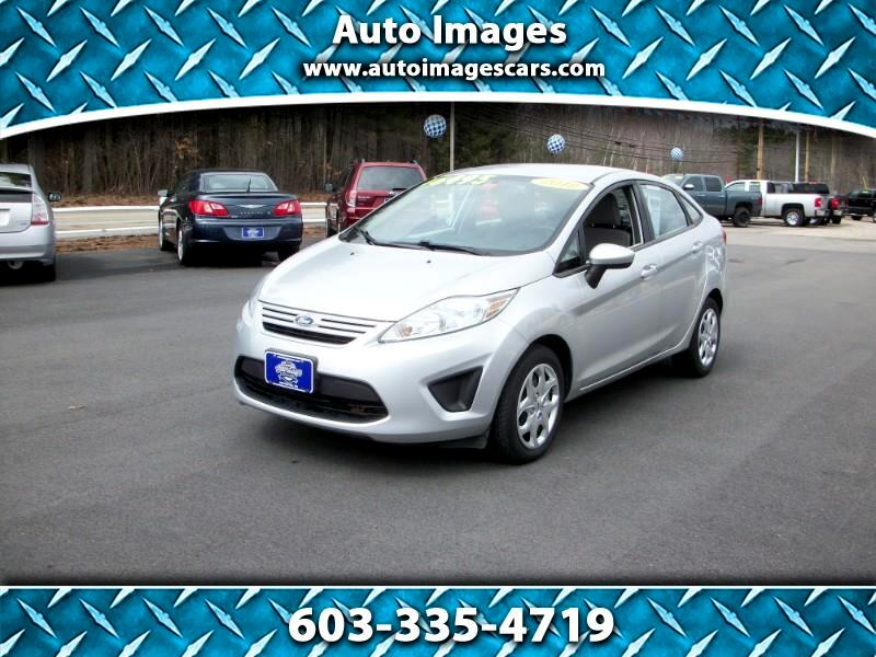 2012 Ford Fiesta 4dr Sdn S