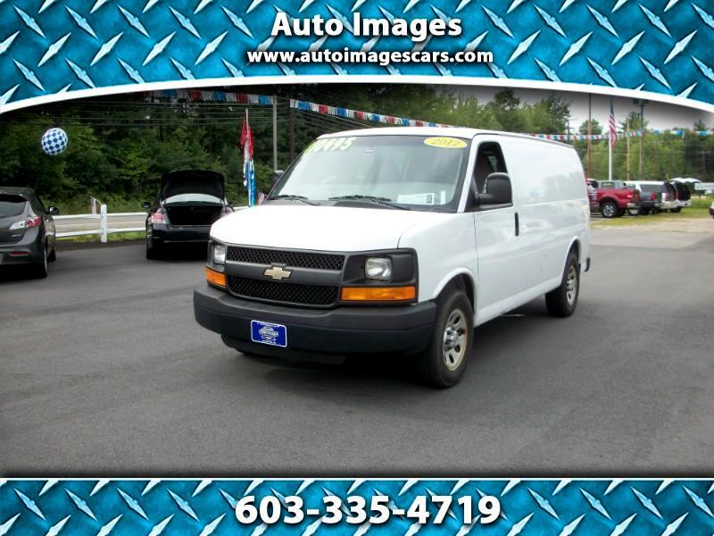 2012 Chevrolet Express Cargo Van RWD 1500 135
