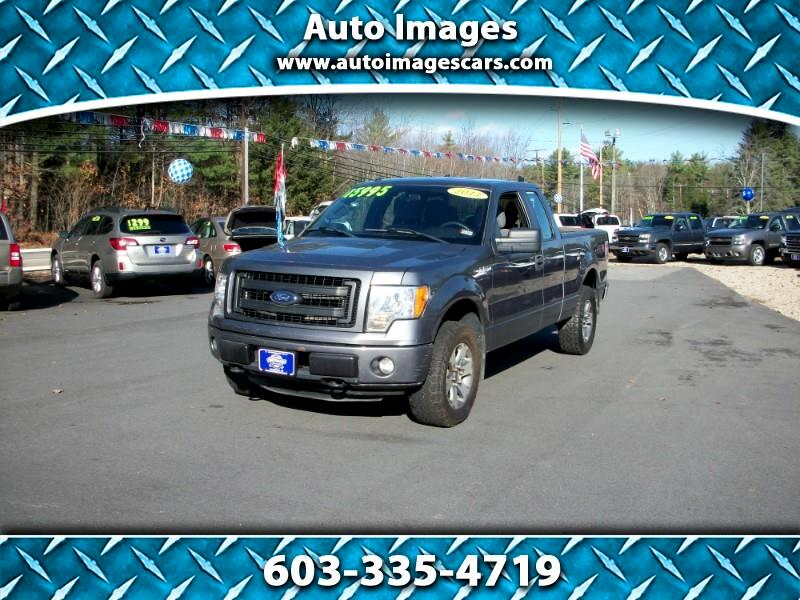 "Ford F-150 4WD SuperCab 145"" STX 2013"