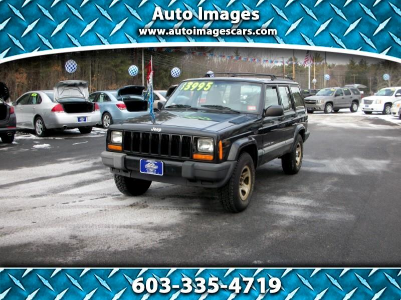 Jeep Cherokee 4dr Police 4WD 2000