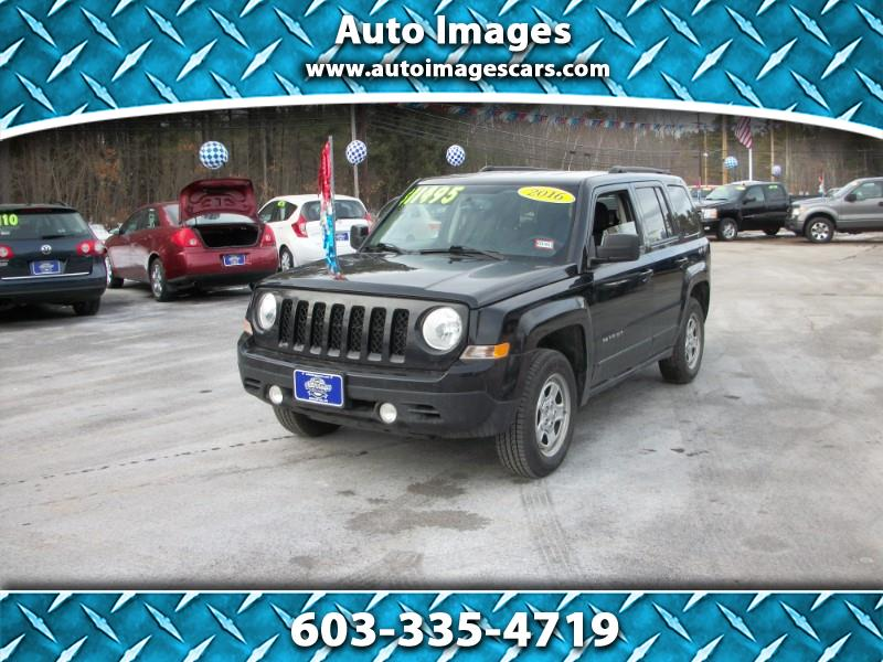 Jeep Patriot 4WD 4dr Sport 2016