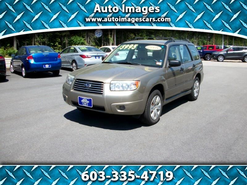 Subaru Forester (Natl) 4dr Auto X 2008