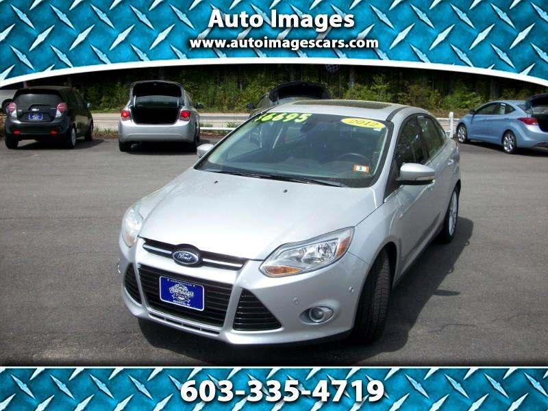 Ford Focus 4dr Sdn SEL 2012