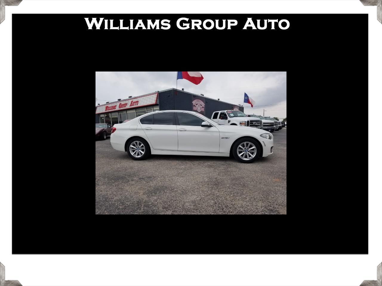 2015 BMW 5-Series 528i Sedan
