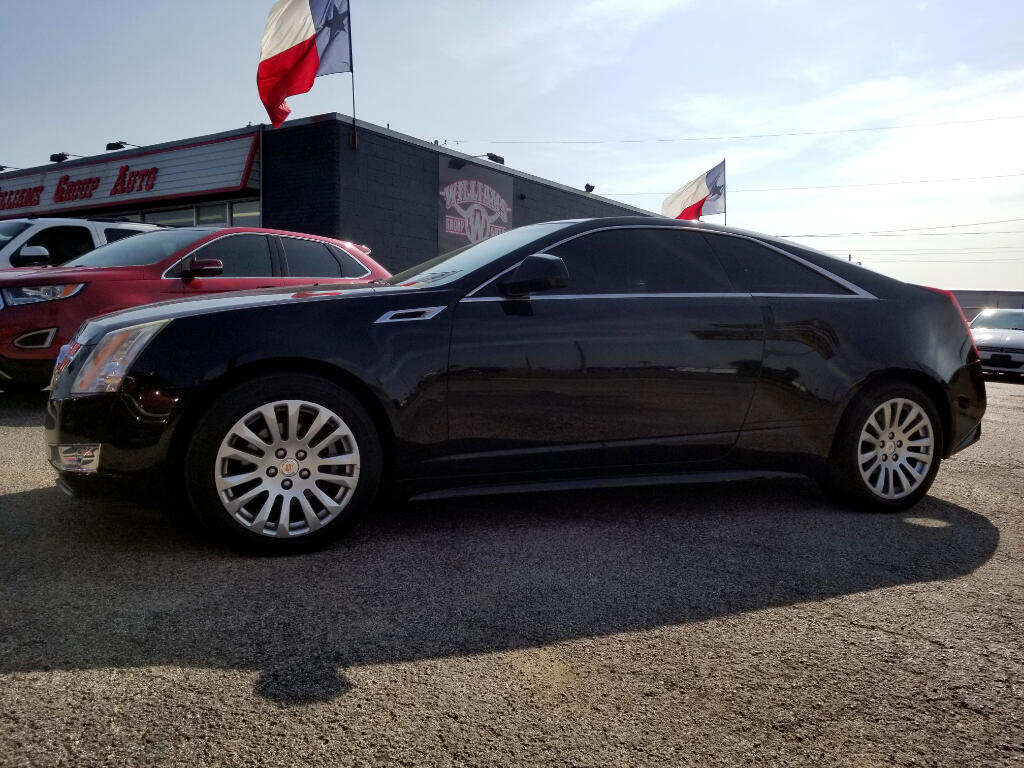 2012 Cadillac CTS Coupe Performance RWD