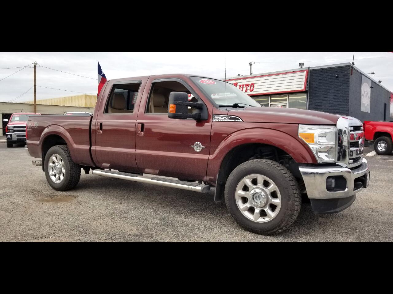 2015 Ford F-250 SuperCrew Lariat FX4