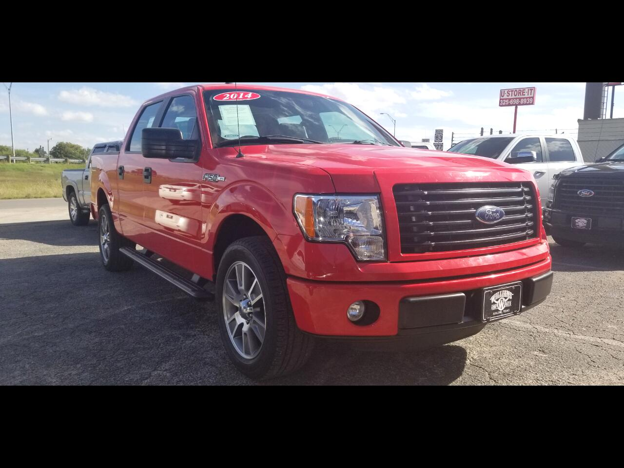 2014 Ford F-150 SuperCrew STX RWD
