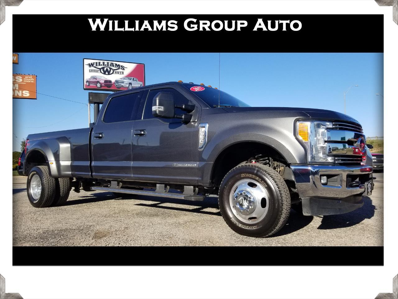 2017 Ford F-350 SuperCrew Lariat Ultimate DRW 4X4