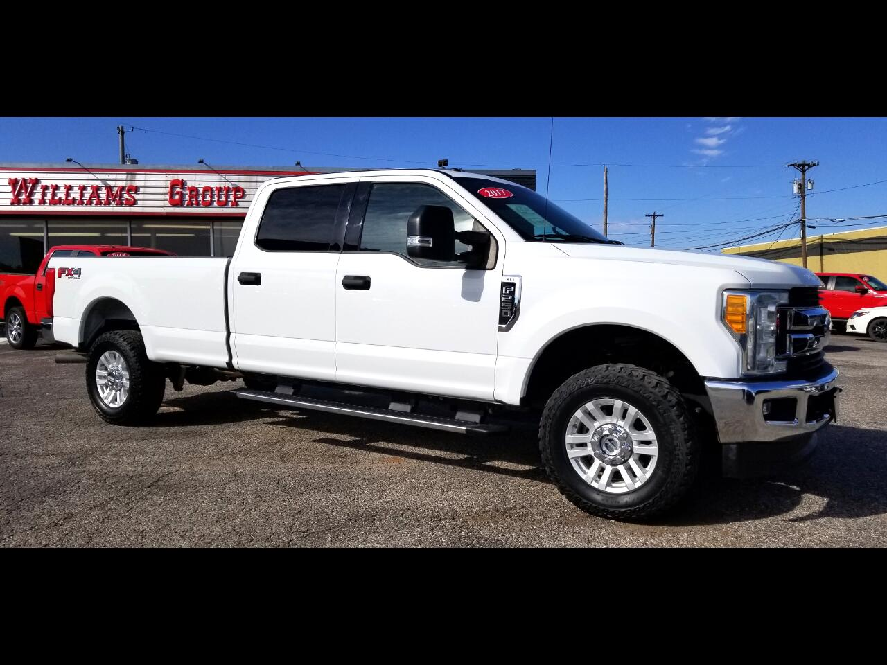 2017 Ford F-250 SuperCrew XLT FX4