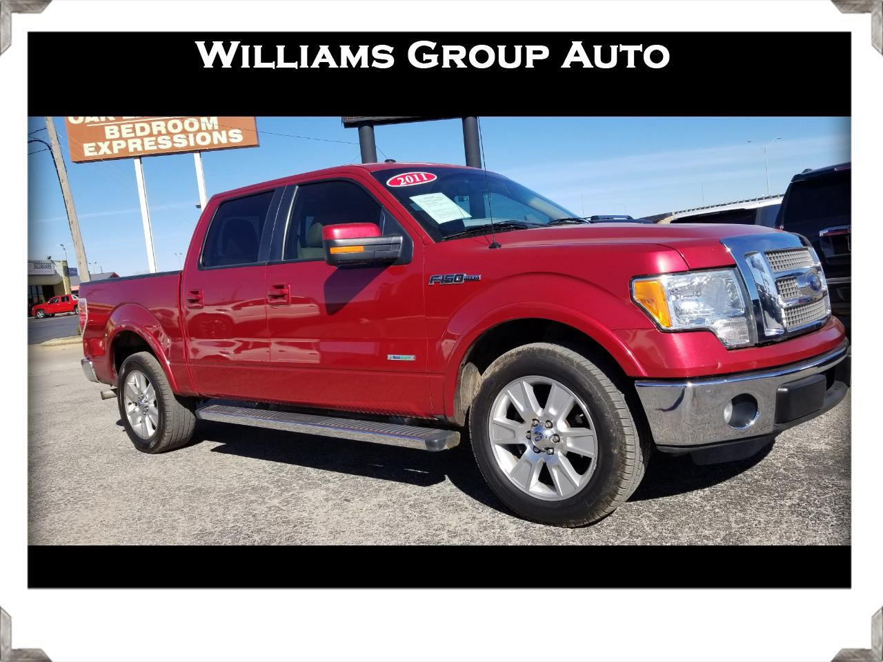 2011 Ford F-150 SuperCrew Lariat RWD