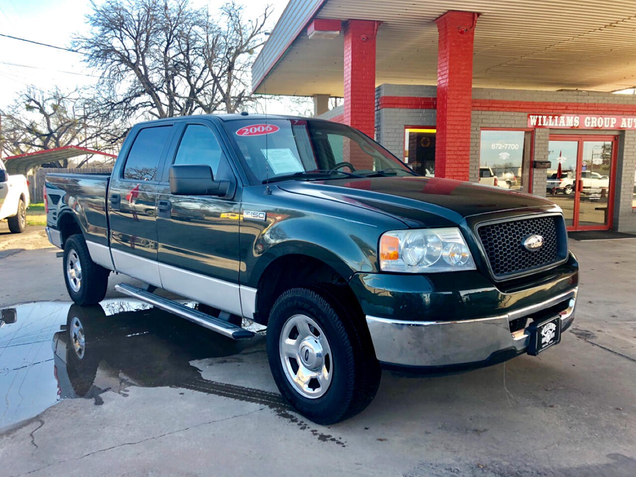 used 2006 ford f 150 supercrew xlt rwd for sale in abilene tx 79605 williams group auto. Black Bedroom Furniture Sets. Home Design Ideas