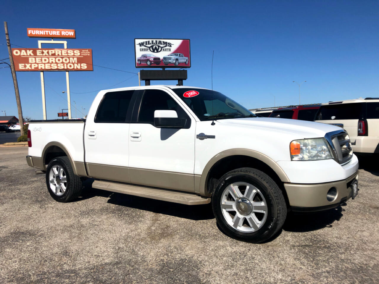 2008 Ford F-150 SuperCrew King Ranch 4X4