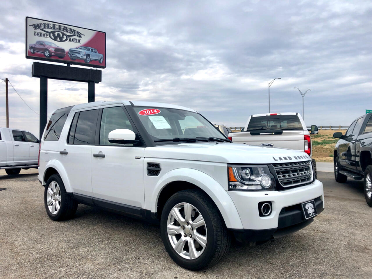2014 Land Rover LR4 HSE 4WD