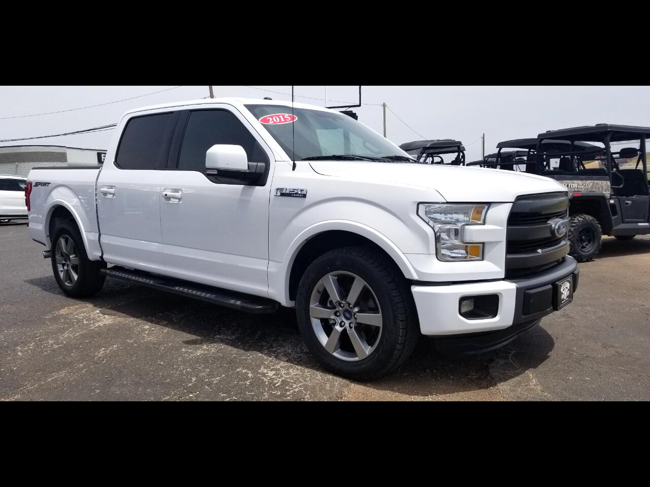 2015 Ford F-150 SuperCrew Lariat Sport