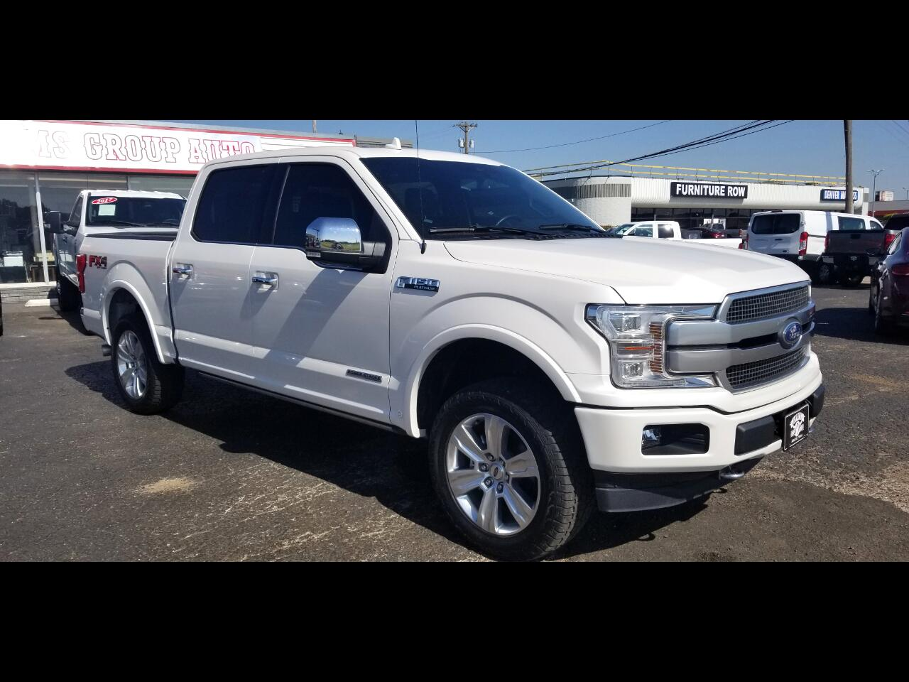 2018 Ford F-150 SuperCrew Platinum FX4