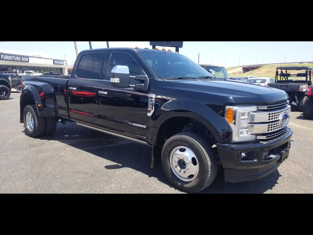 2018 Ford F-350 SuperCrew Platinum FX4 DRW