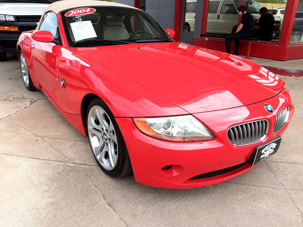 2004 BMW Z4 2dr Roadster 3.0i