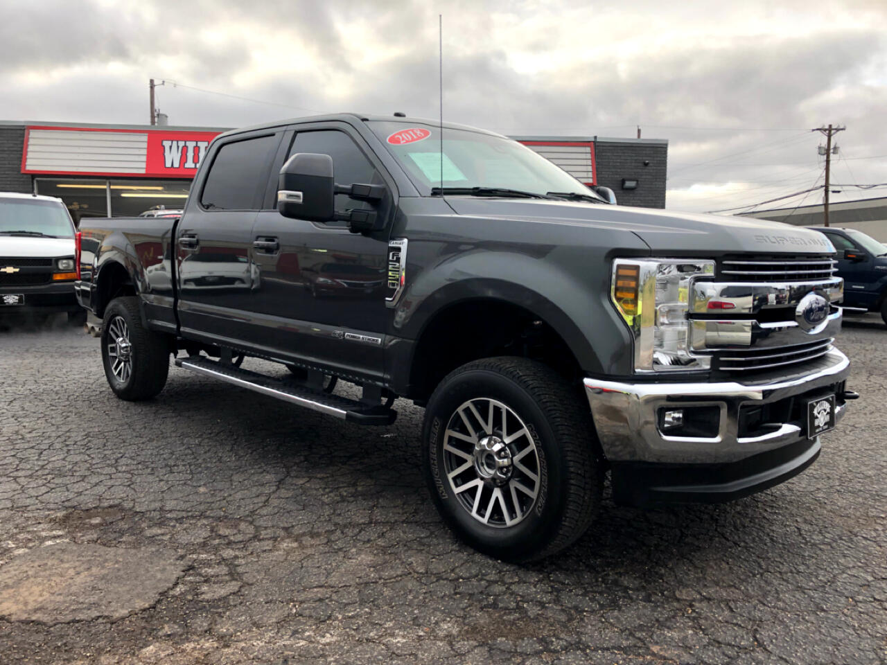 2018 Ford F-250 SuperCrew Lariat Ultimate FX4