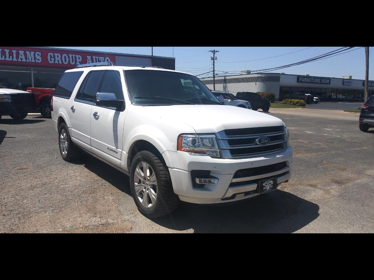 Ford Expedition EL 2WD 4dr Platinum 2015