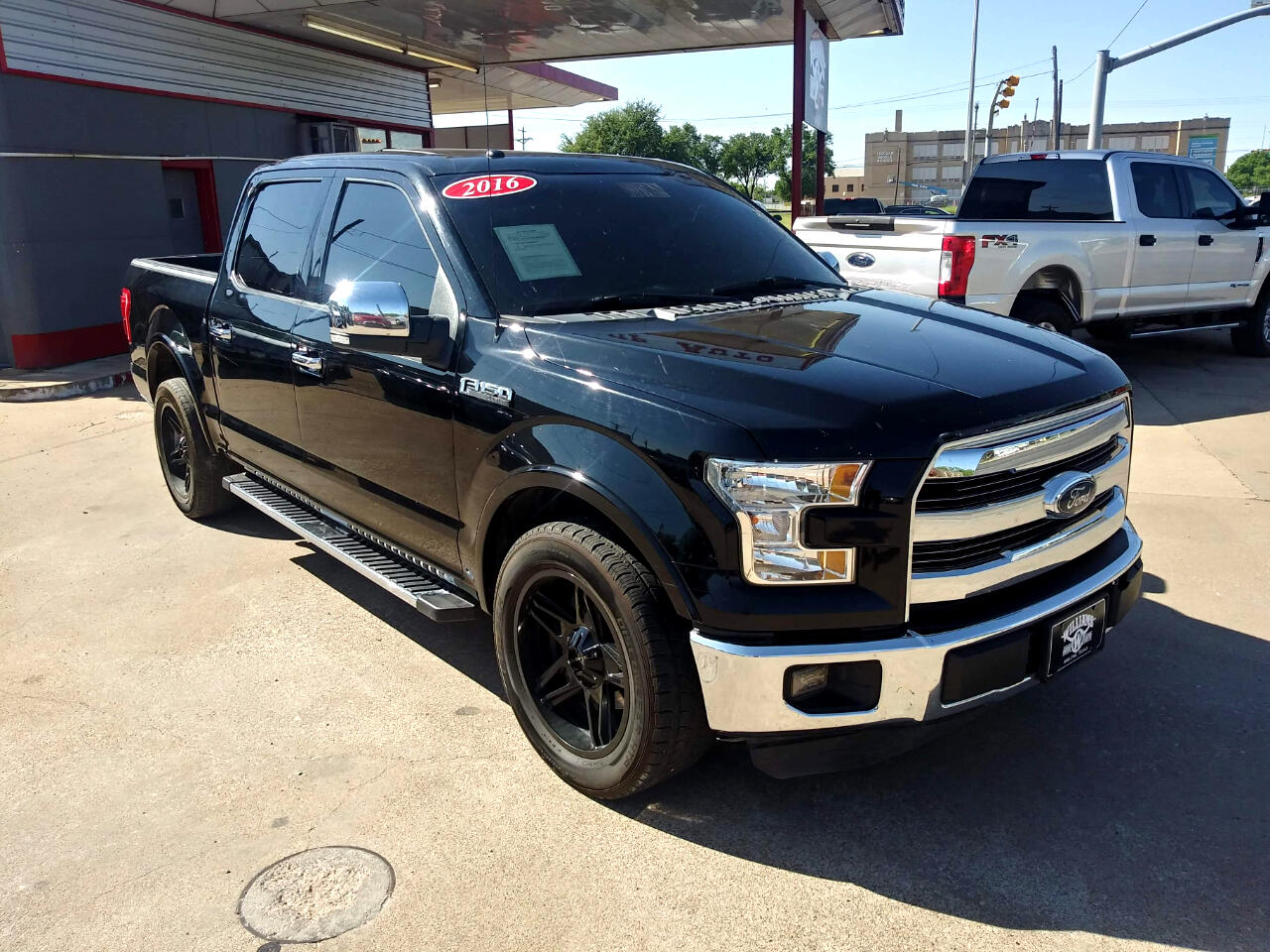"Ford F-150 2WD SuperCrew 139"" Lariat 2016"