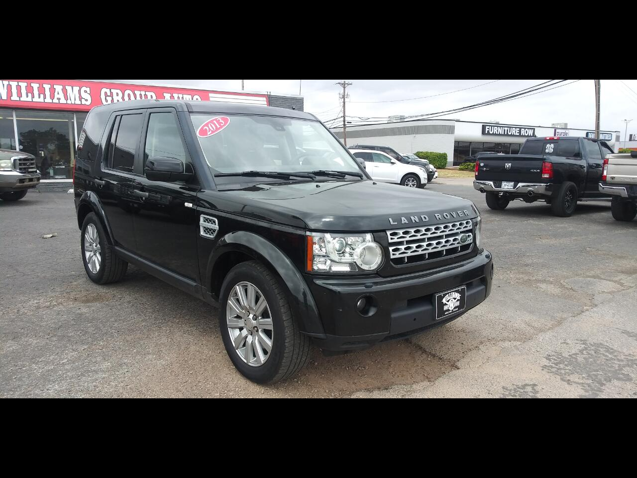 Land Rover LR4 4WD 4dr HSE 2013