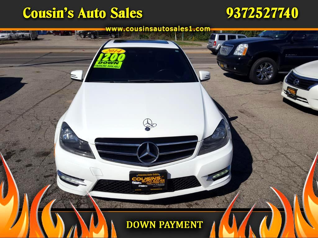 2014 Mercedes-Benz C300 4 MATIC