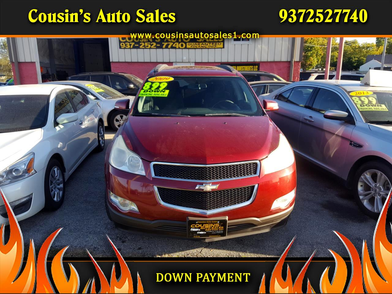 2009 Chevrolet Traverse AWD 4dr LT Cloth w/1LT