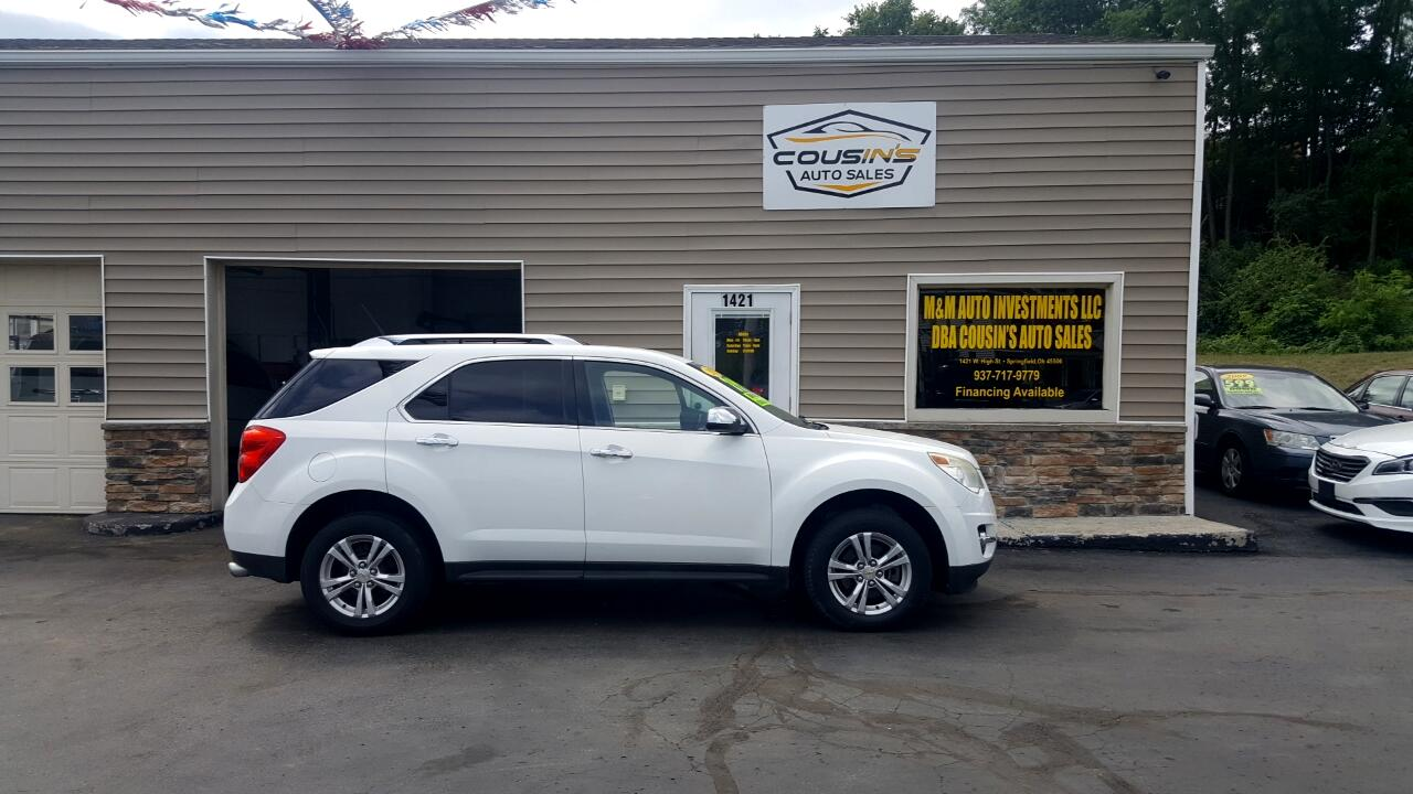 Chevrolet Equinox LT AWD Base 2012