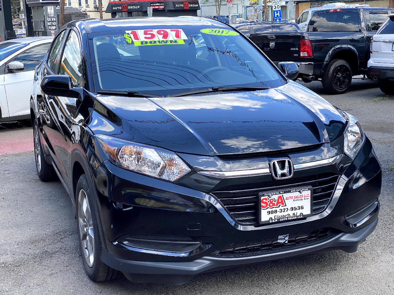 Honda HR-V LX 4WD CVT 2017