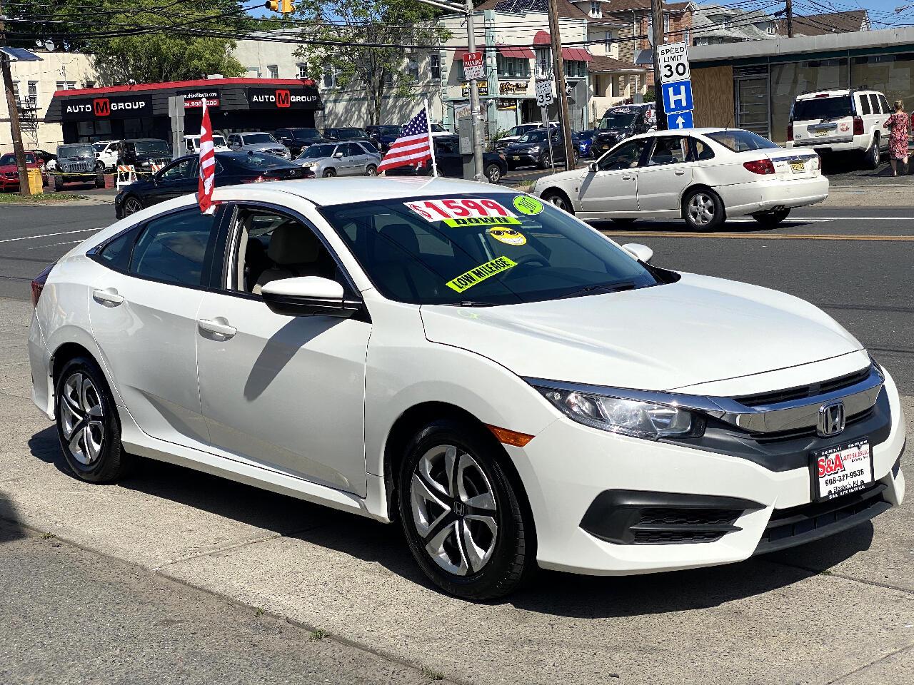 Honda Civic LX Sedan CVT 2017