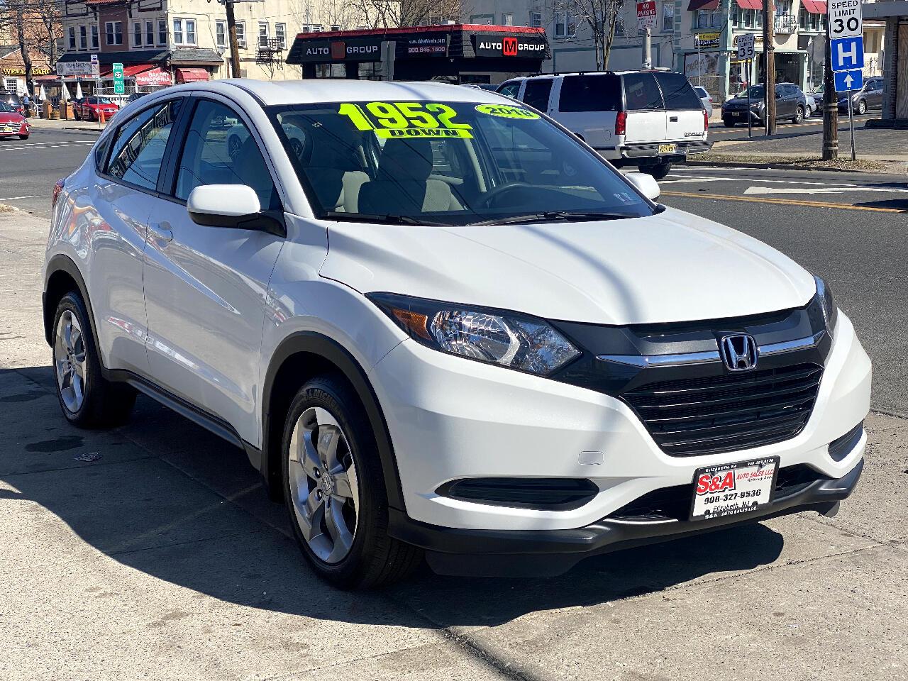 Honda HR-V LX 4WD CVT 2018