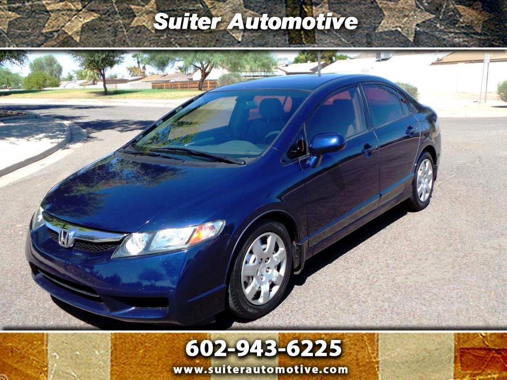 2009 Honda Civic 4dr Sdn LX Auto w/Side Airbags