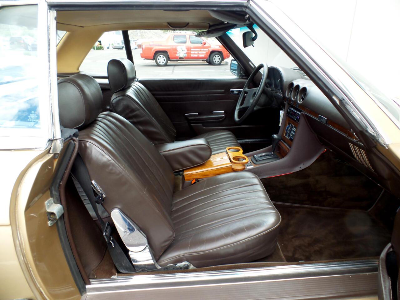 1980 Mercedes-Benz 450 SL Convertible