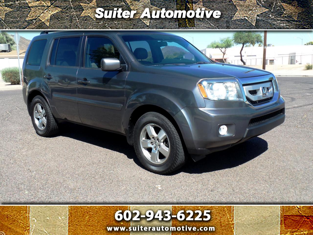 2011 Honda Pilot EX-L 2WD 5-Spd AT with Navigation