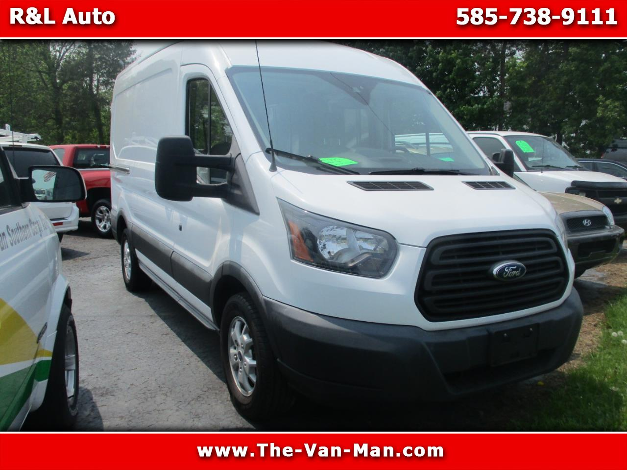 2015 Ford Transit 150 Van Med. Roof w/Sliding Pass. 130-in. WB