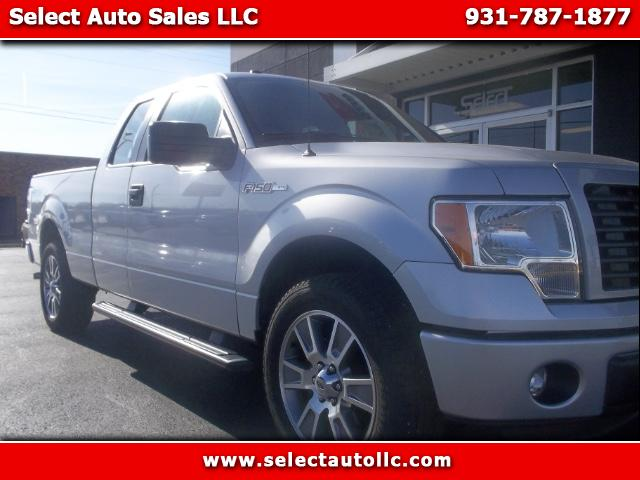 "2014 Ford F-150 2WD SuperCab 145"" STX"