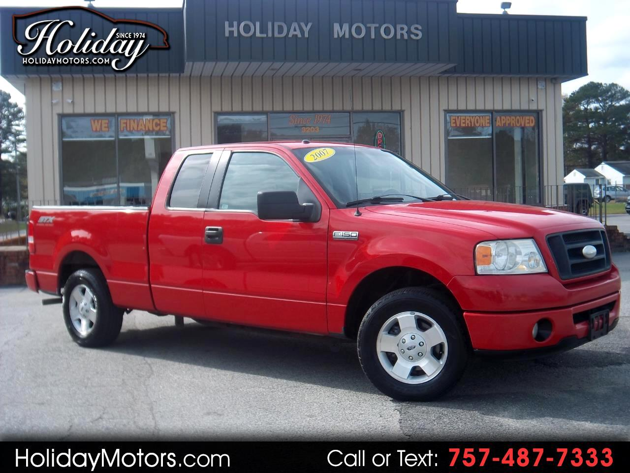 "2007 Ford F-150 2WD Supercab 133"" STX"