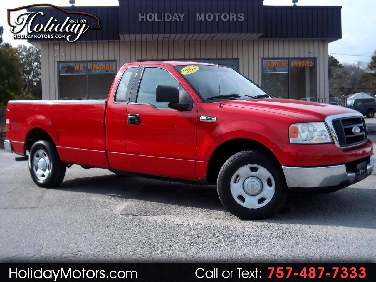 "2004 Ford F-150 Reg Cab 145"" XL"