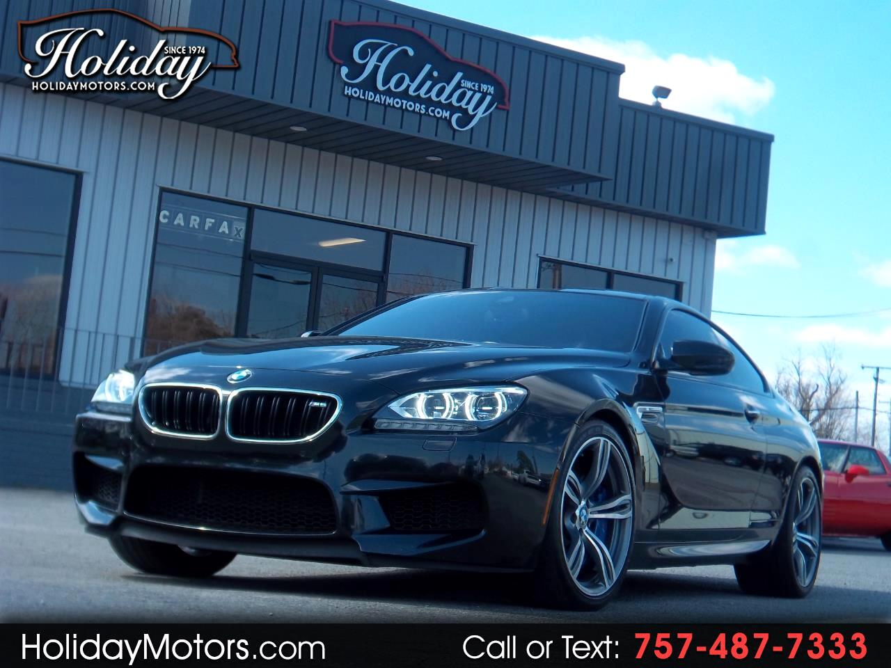 2013 BMW M6 2dr Cpe