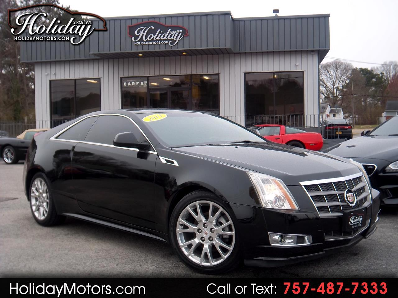 2011 Cadillac CTS Coupe 2dr Cpe Performance AWD