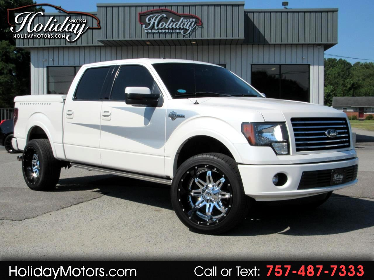 "2012 Ford F-150 4WD SuperCrew 145"" Harley-Davidson"
